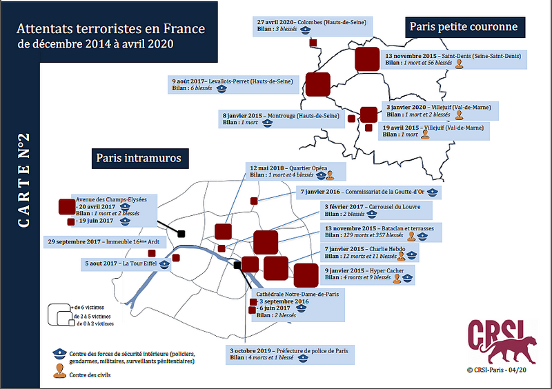 Carte terrorisme islamiste Paris Islamisme, Tunisie, Zine El Abidine Belhareth, association Tourathna جمعية تراثنا