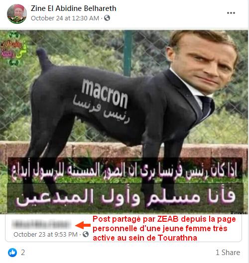 Zine El Abidine Belhareth Les français sont des chiens Association Tourathna, Amira جمعية تراثنا
