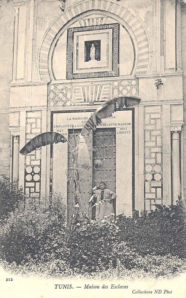 Maison des esclaves chrétiens à Tunis