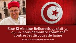 Zine El Abidine Belhareth, زين العابدين بلحارث, nous démontre comment contrer les discours de haine.