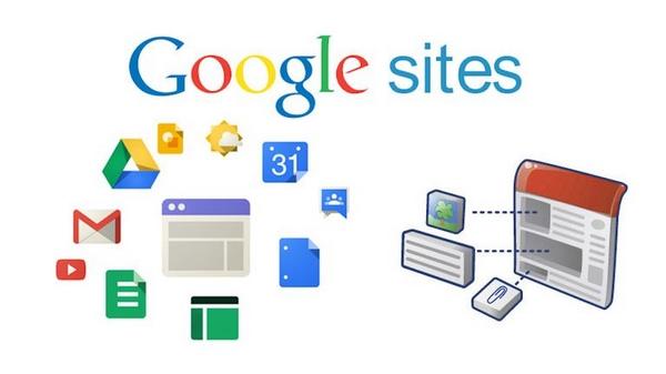 Cette partie concerne Google Sites