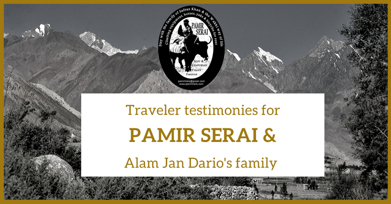 Pamir Serai and Alam Jan Dario testimonies