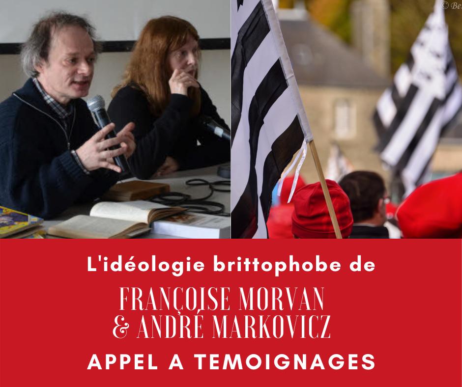 André Markowicz et Françoise Morvan demande d'information Facebook - Affaire Hélène Roudier de Lara