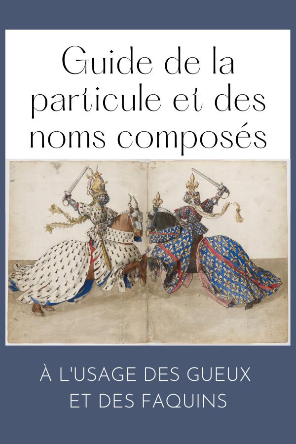 Particule et noms composés, Hélène Roudier de Lara, Philippe de Lara, Pin