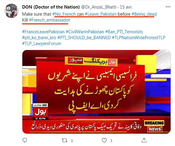 Imran Khan, Pakistan, Tehreek-e-Labbaik Pakistan, TLP, terrorism, islamism, French dead — Kill ambassador