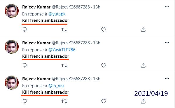 Imran Khan, Pakistan, Tehreek-e-Labbaik Pakistan, TLP, terrorism, islamism, Kill french Ambassador
