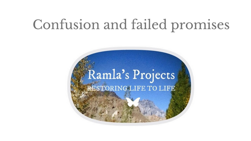 """Ramla's Projects is a redesign of the so-called Ramla Akhtar's consulting firm """"NEXT> by Ramla"""". Then, for unknown reasons, it was renamed under the title """"Rmala Projects"""". The """"owner"""" of this entity is called Ramla Akhtar, Ramla Aalam, Rmala Al'Aalam. And as public donations are solicited, this permanent name change raises questions about the lack of transparency. A review of the Ramla Projects website reveals internal contradictions that make it unreliable. Additional information proves a scam."""