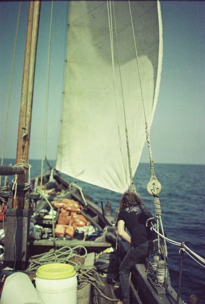Море Іруаз, Козацька чайка «Пресвята Покрова», Світлини Юліана Куклевського