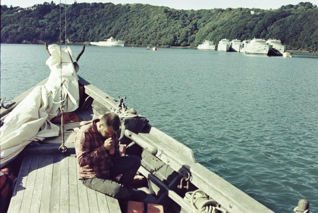 Цвинтар військових човнів у Ландевеннеку, Козацька чайка «Пресвята Покрова», Світлини Юліана Куклевського
