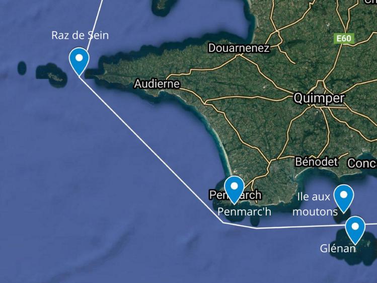 Затока Одьєрн: від Пенмарку до Ра де Сен, 4 вересня 2021 р