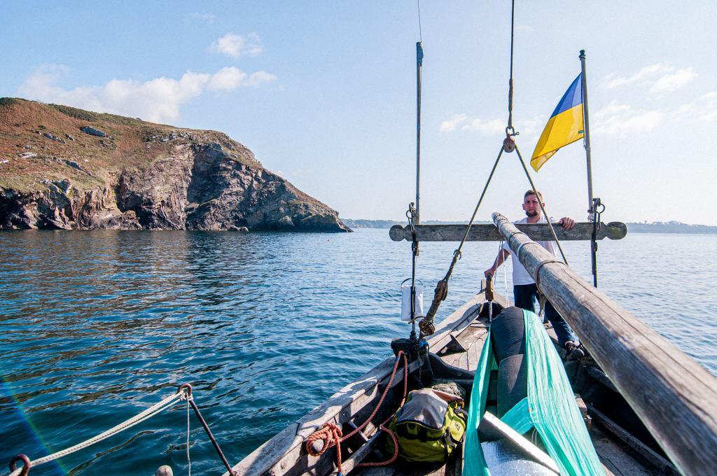 Море Іруаз, Козацька чайка «Пресвята Покрова»,  фотографії Мар'яни Гевак